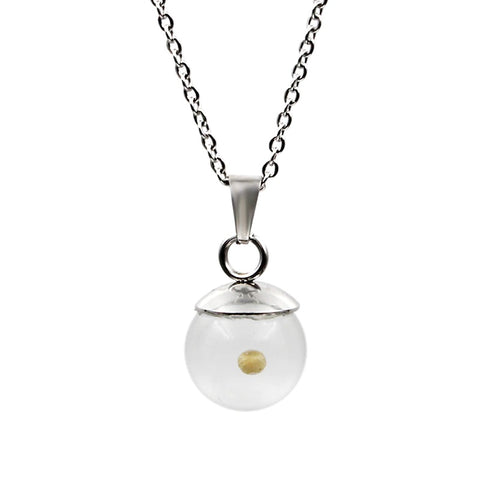 Mustard Seed Ball Necklace