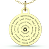 Image of (Gold) Names of Jesus Necklace