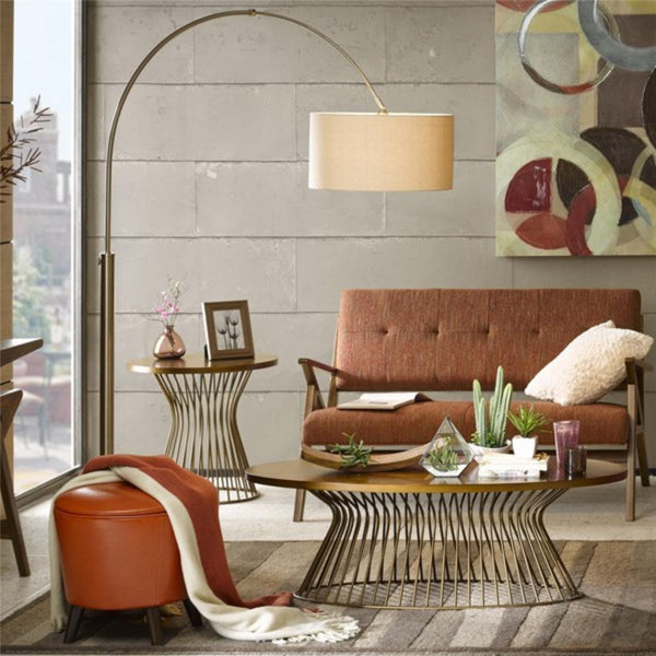 Manhattan Shade Floor Lamp