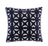 Nova Embroidered Fret Decorative Pillow