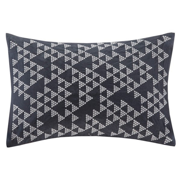 Thea Embroidered Oblong Pillow