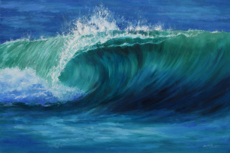 Green Wave - Painting 524
