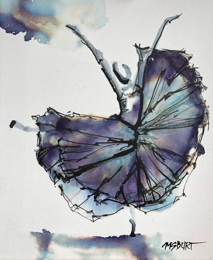 """Joie de Vivre"" - Joy of Life Dancer Painting 1007"