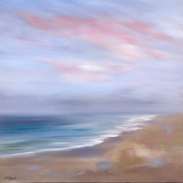 Morning Reflections - Southern California Seascape - Ethereal Seascape - 154