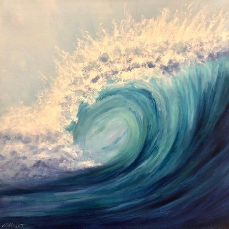 Barrel Wave - Painting 515