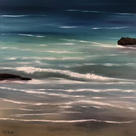 Serenity Seascape Painting 131