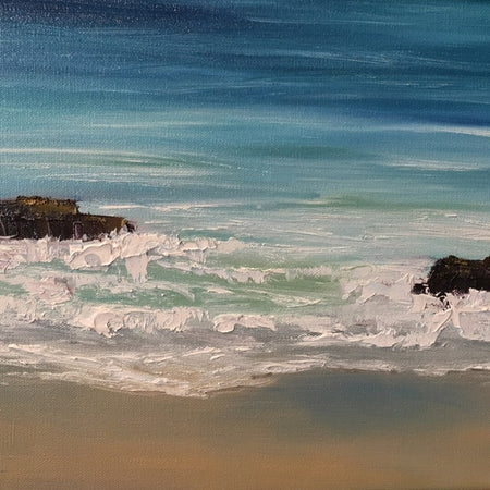 Seascape Painting in Acrylic Class