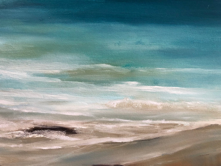 Serenity Seascape Painting - 128