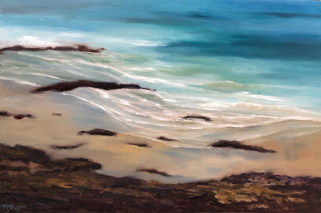 Serenity Seascape Painting - #128