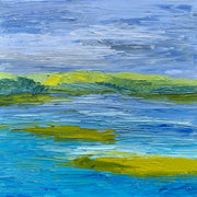 Palette Knife Newport Back Bay Painting - 139