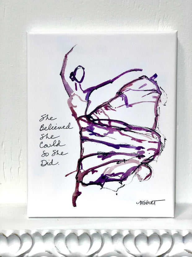 She Believed - Dancer Giclée Print - 1019