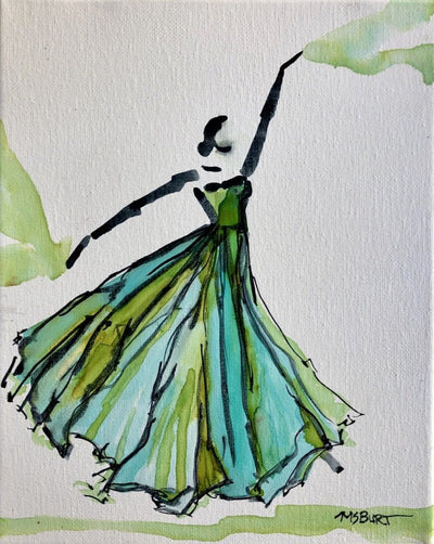 Fanciful & Free - Dancer Painting - 1024