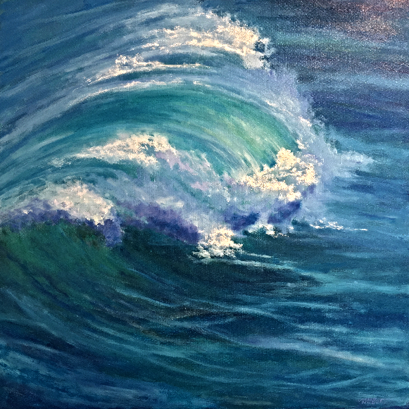Laguna Wave Painting 526