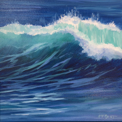 Wave Painting in Acrylic Class