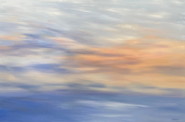 Tranquility at Sunset- Ethereal Seascape - 153