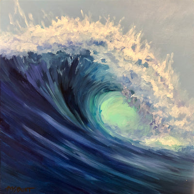 Wave Painting 528