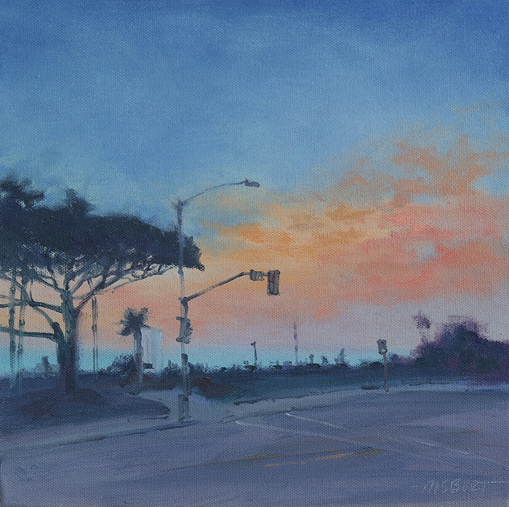 Good Night Laguna at Main Beach - Wired Painting103