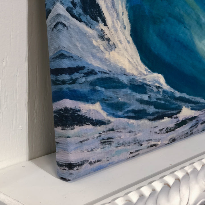 Majestic Green Room - Wave Giclée Print - 522