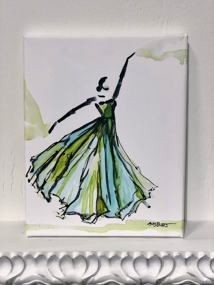 Fanciful and Free - Dancer Giclée Print - 1024