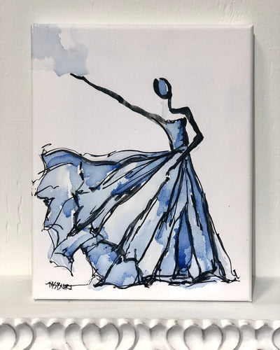 Mysterious Gem - Dancer Giclée Print - 1021