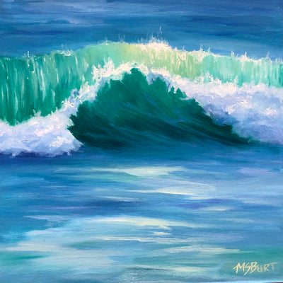 Summer of Love - Wave Painting - 531