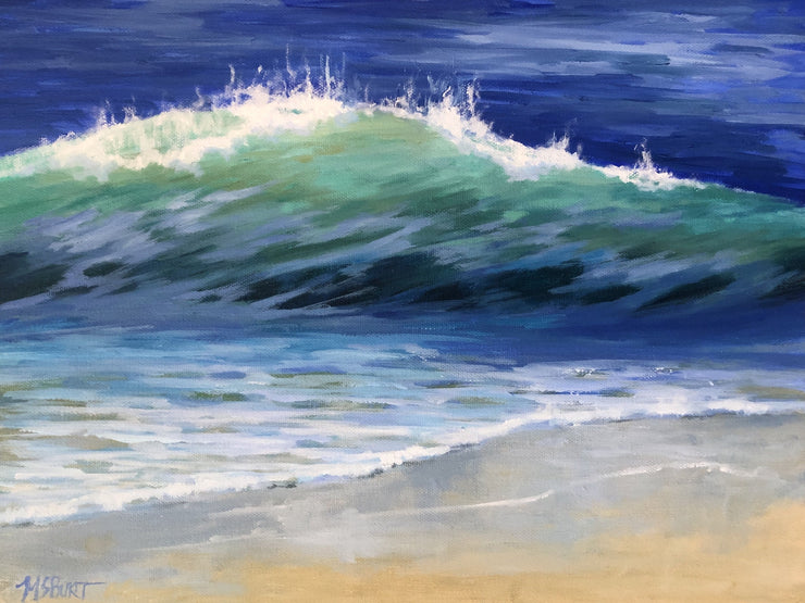 Translucent Wave Painting 530