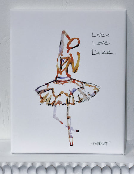 Live Love Dance - Dancer Giclée Print - 1011