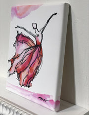 In the Pink - Dancer Giclée Print - 1008