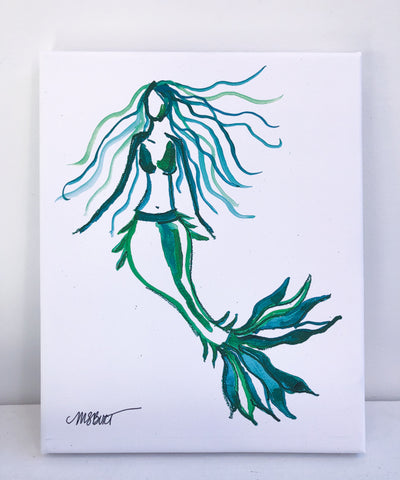 Mermaid - Giclée Print - 2000