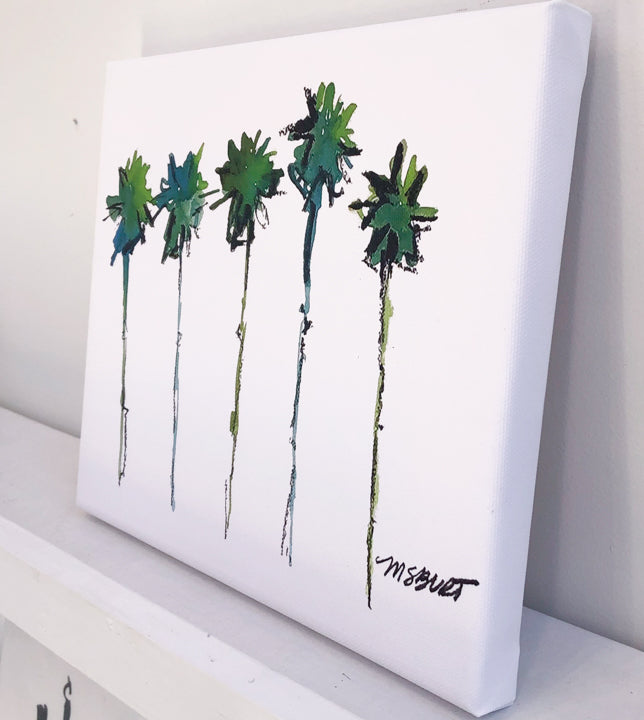 Palm Trees - Giclée Print - 2001