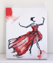 Firebird - Dancer Giclée Print - 1018