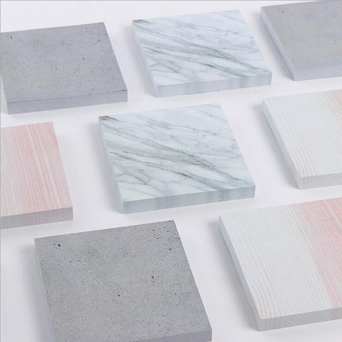 Marble Stone Texture- Sticky Notes, , My Fantasy Co, Queen JourneyA