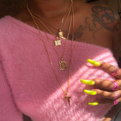 Uzi Layered Necklace
