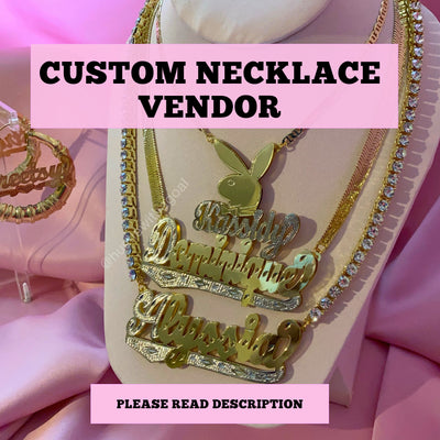 Custom Necklace/Bracelet Vendor
