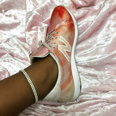 Icy Stretch Anklet