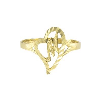 Vintage Initial Ring