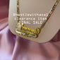 """Monyae"" NAMEPLATE NECKLACE (CLEARANCE - FINAL SALE)"