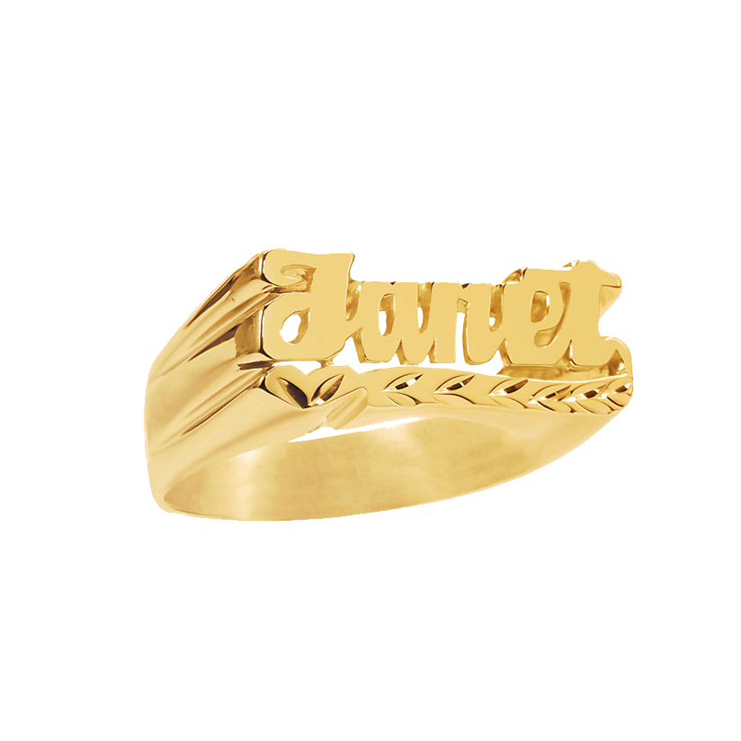 Gold Custom Ring