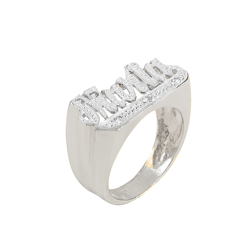 Diamond Cut Custom Ring