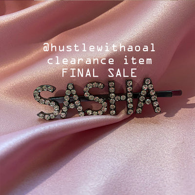 """Sasha"" HAIR PIN (CLEARANCE - FINAL SALE)"