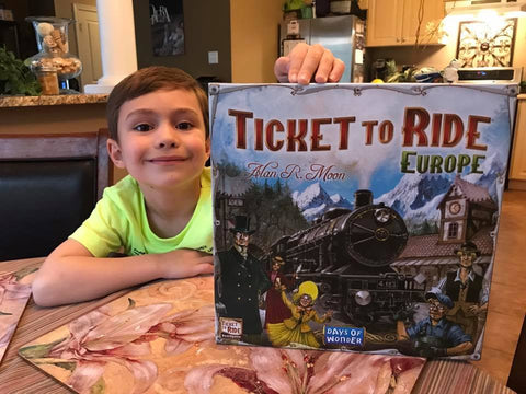 Ticket to Ride with kid