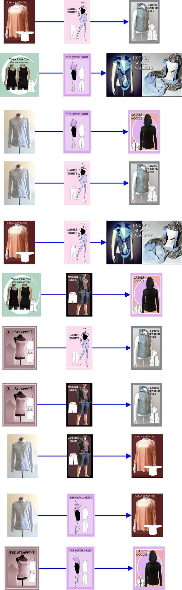 athleisure, capsule, wardrobe, fashion, Sew, sewing, sewalong, sewalongs, sew-alongs, sew along, sewing pattern, designer, fashion, sew your own, learn to sew, free