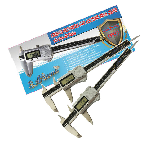 2 Pack IP67 Absolute Origin Digital Caliper