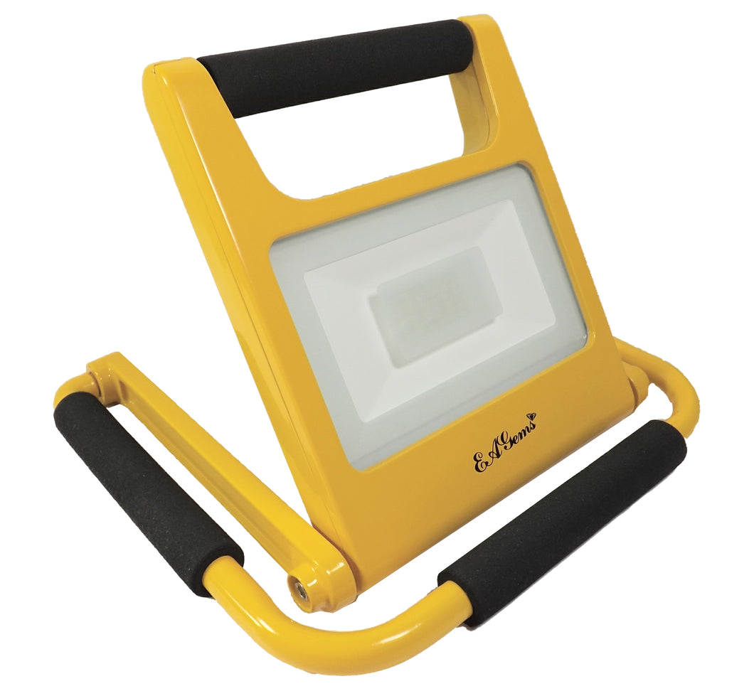 Rechargeable LED Work Light, 20 Watt, Yellow