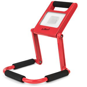 Rechargeable LED Work Light, 10 Watt, Red
