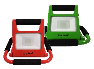 2-Pack LED Work Lights,10 Watt, Red + Green