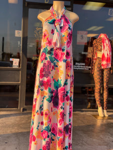 """Garden of Flower"" Maxi Dress"