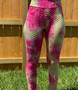Pink Berry Lemonade Butt Leggings