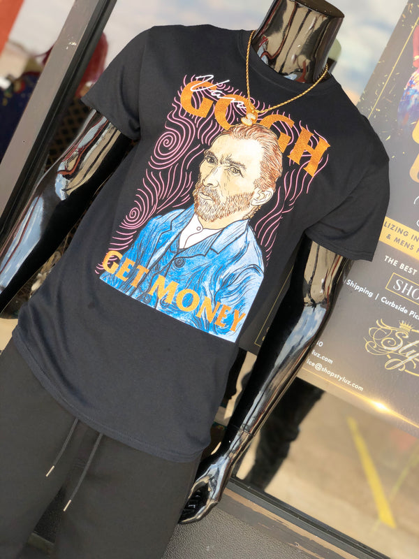 "Mens ""Van GoGH""  Graphic Tshirt"