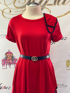"""Miss Good Girl"" Dress w/ Matching Mask"